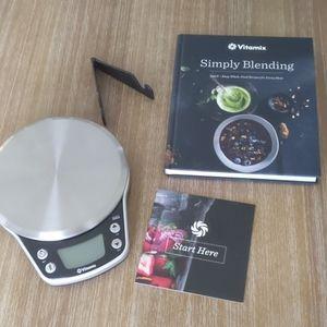 Vitamix Scale w/ Recipe Book